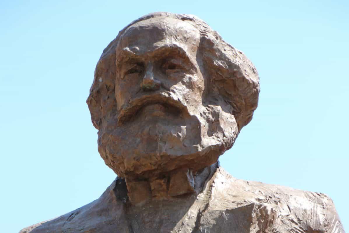 Karl Marx-Statue