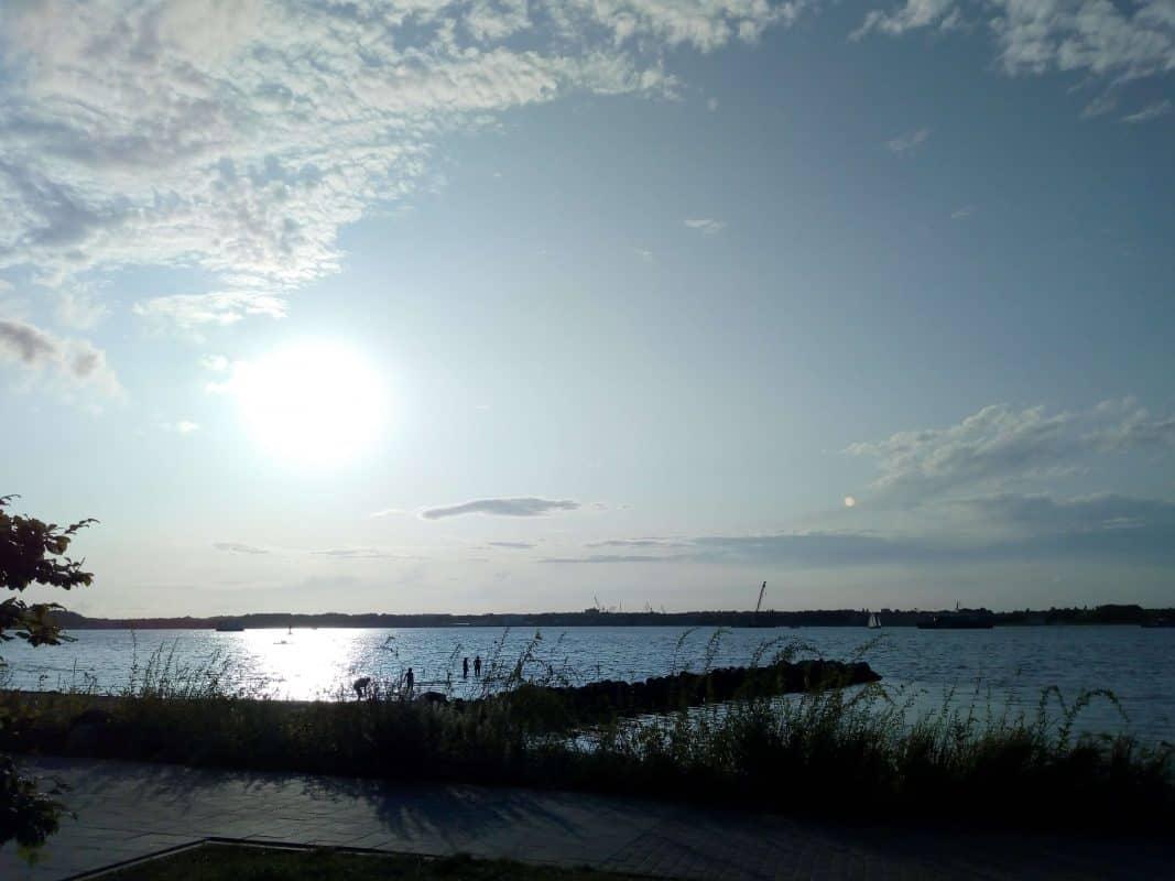 Plöner See in der Abendsonne